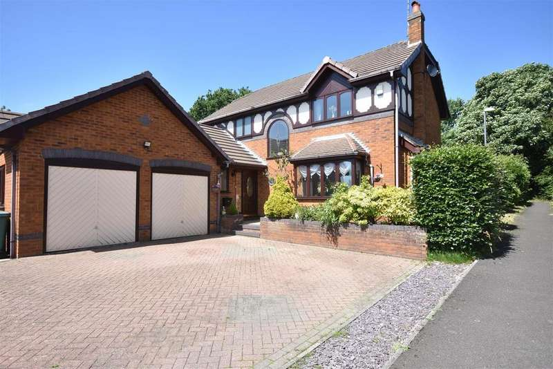 4 Bedrooms Detached House for sale in Kingsbury Court, Skelmersdale