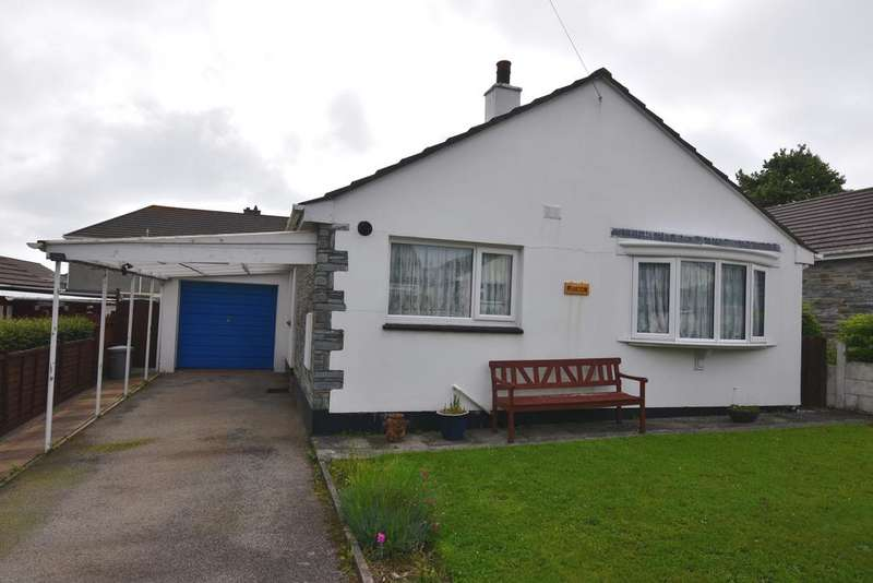 3 Bedrooms Detached Bungalow for sale in Trevelthan Road, Illogan, Redruth TR16
