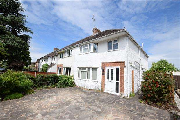 3 Bedrooms Semi Detached House for sale in Hatherley Road, CHELTENHAM, Gloucestershire, GL51 6HT