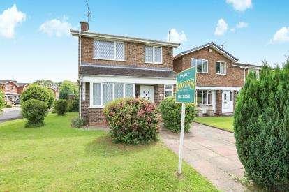 3 Bedrooms Detached House for sale in Halesworth Road, Pendeford, Wolverhampton, West Midlands