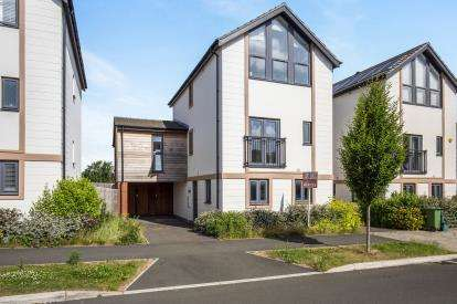 4 Bedrooms Link Detached House for sale in Denman Avenue, Cheltenham, Gloucestershire