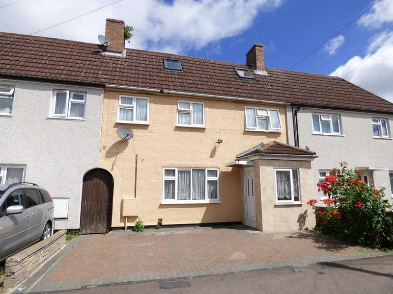4 Bedrooms Terraced House for sale in Pearcey Road, Bedford, MK42 9LZ