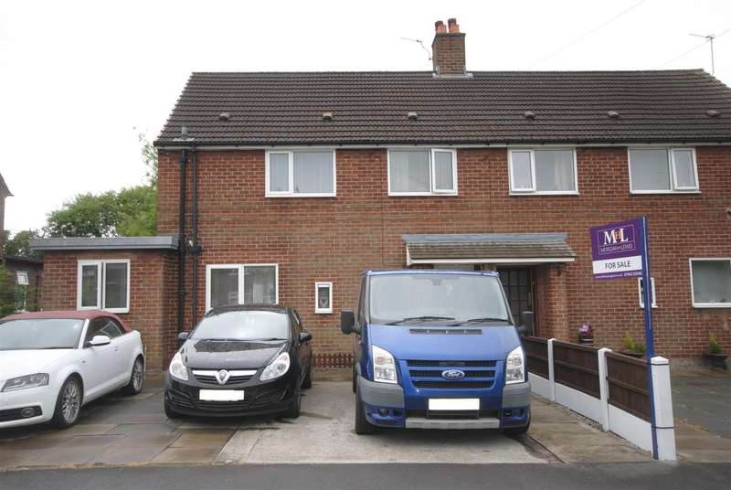 3 Bedrooms Semi Detached House for sale in Flockton Avenue, Standish Lower Ground, Wigan