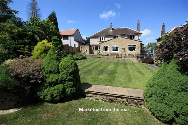 4 Bedrooms Detached House for sale in Gernhill Avenue, Fixby, Huddersfield