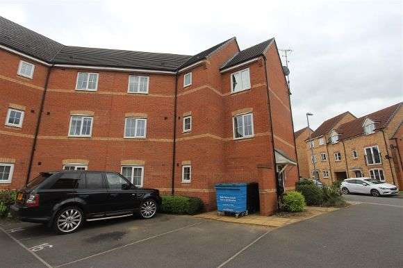 2 Bedrooms Flat for sale in Stackyard Close, Braunstone, Leicester