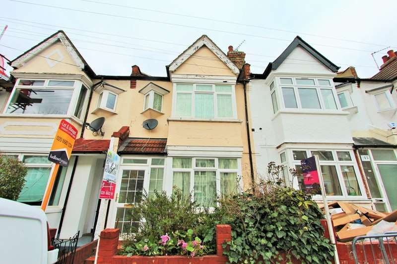 4 Bedrooms Terraced House for sale in Crowborough Road, London, London, SW17