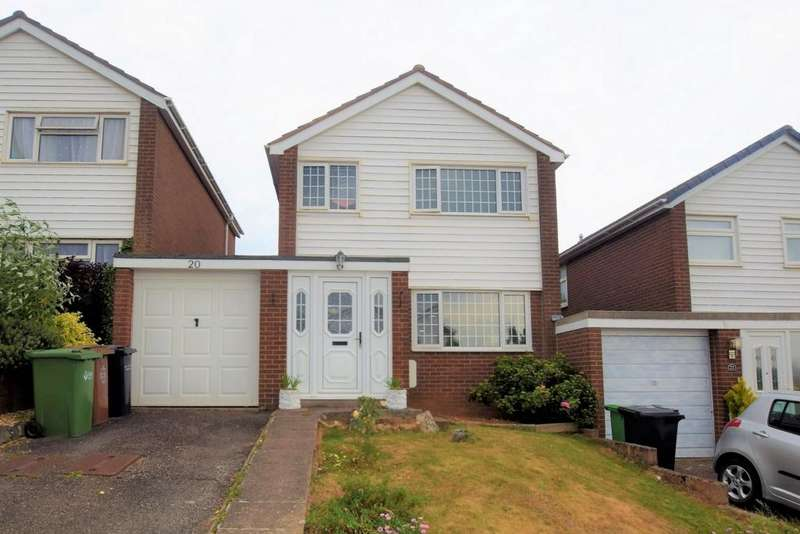 3 Bedrooms House for sale in Bickleigh Close, Pinhoe, EX4
