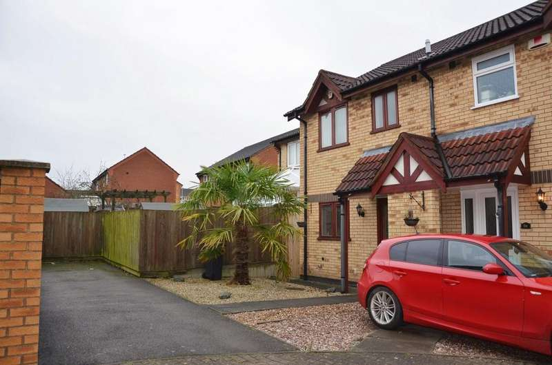 3 Bedrooms House for sale in Honeysuckle Close, Coalville, LE67