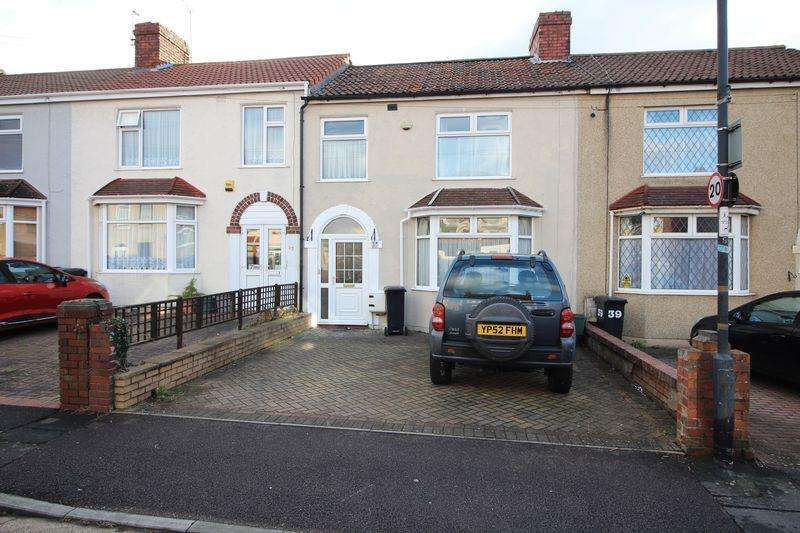 3 Bedrooms Terraced House for sale in Glenburn Road, Kingswood, Bristol