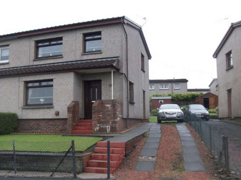 3 Bedrooms Semi Detached House for sale in Dalhanna Drive, New Cumnock KA18