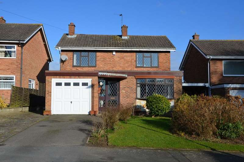 3 Bedrooms Detached House for sale in Hastings Way, Ashby De La Zouch, LE65