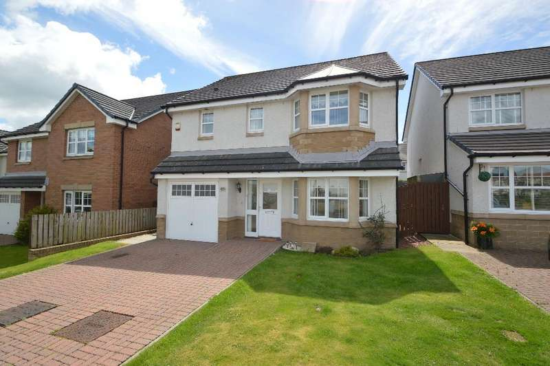 4 Bedrooms Detached House for sale in Earlswood Avenue, Irvine, North Ayrshire, KA11 2FE