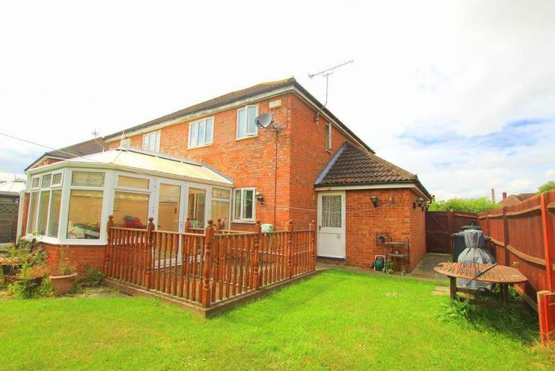 3 Bedrooms Semi Detached House for sale in School Lane, Stewartby, Bedfordshire, MK43 9NG