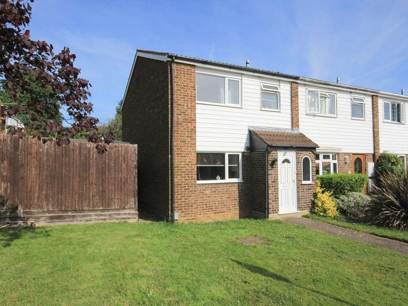 3 Bedrooms End Of Terrace House for sale in Woodcock Walk, Flitwick, MK45