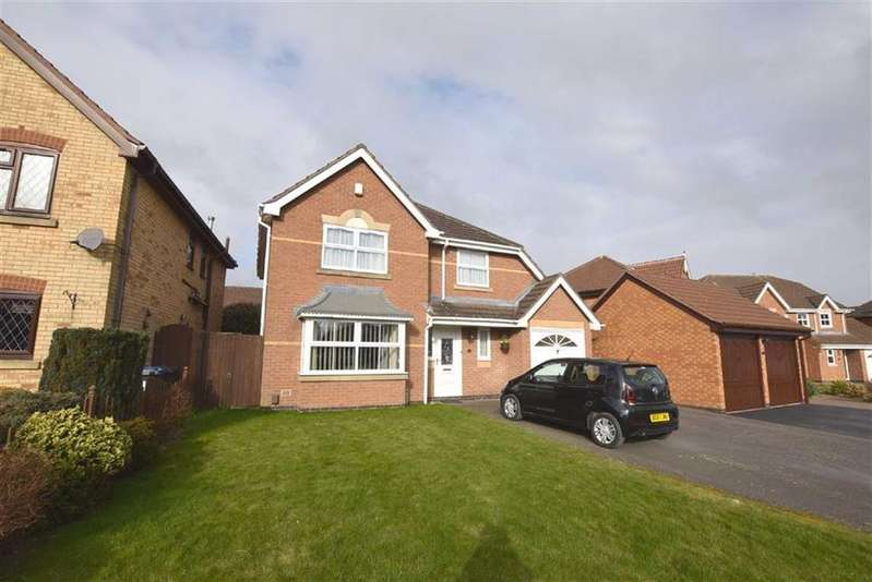 4 Bedrooms Detached House for sale in Cotman Drive, Hinckley, Leicestershire