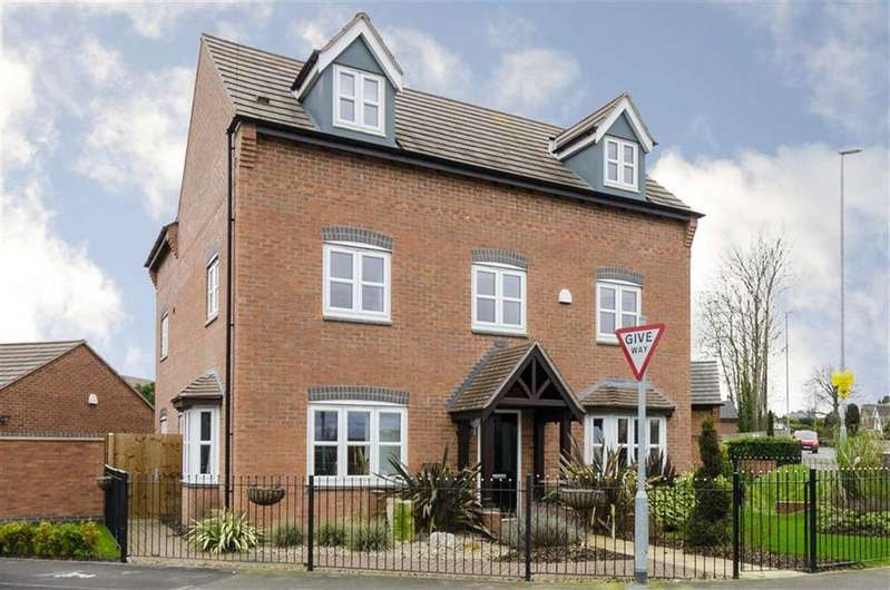 5 Bedrooms Detached House for sale in Olympic Way, Hinckley, Leicestershire