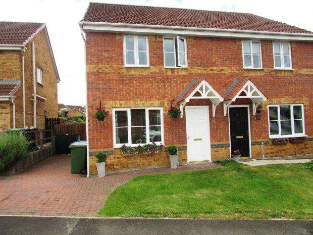 3 Bedrooms Semi Detached House for sale in HAZELDENE WAY, SEAHAM, SEAHAM DISTRICT