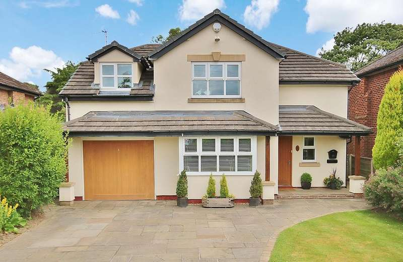 4 Bedrooms Detached House for sale in Church Road, Wilmslow