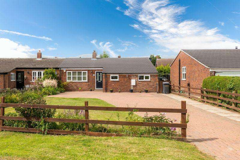 3 Bedrooms Semi Detached Bungalow for sale in 6 Brocklebank Close, Bassingham