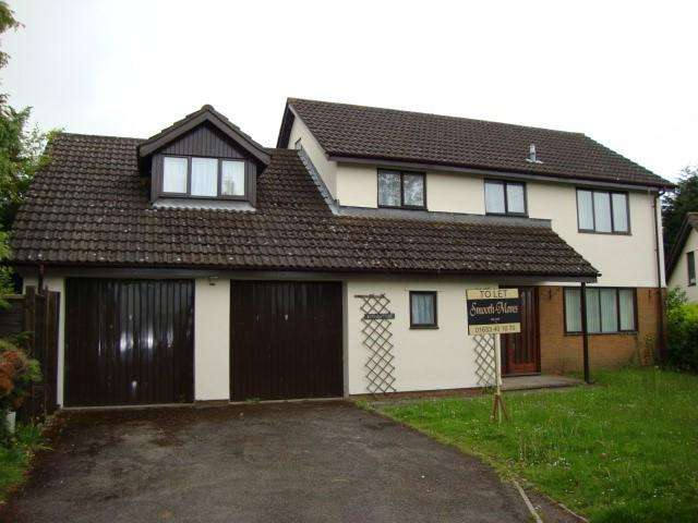 5 Bedrooms Detached House for sale in BROADHURST BRAMBLE WAY, LLANDEVAUD, Newport NP18