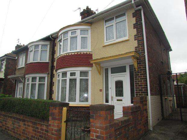 3 Bedrooms Semi Detached House for sale in ASHLEY GARDENS, CHESTER ROAD, HARTLEPOOL