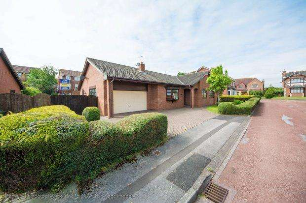 3 Bedrooms Detached Bungalow for sale in PINEWOOD CLOSE, CLAVERING, HARTLEPOOL