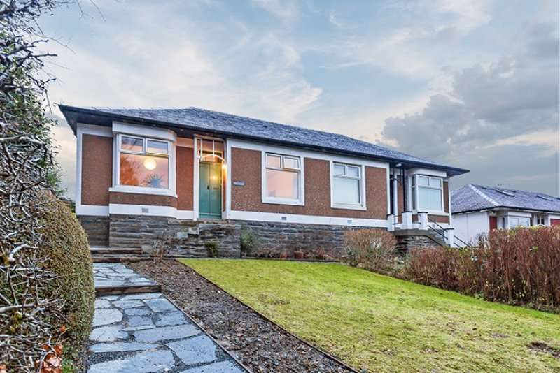 2 Bedrooms Semi Detached Bungalow for sale in Sandbank Road, Dunoon, Argyll and Bute, PA23 7RR