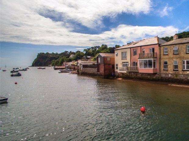 3 Bedrooms Terraced House for sale in Riverside, Shaldon, Devon