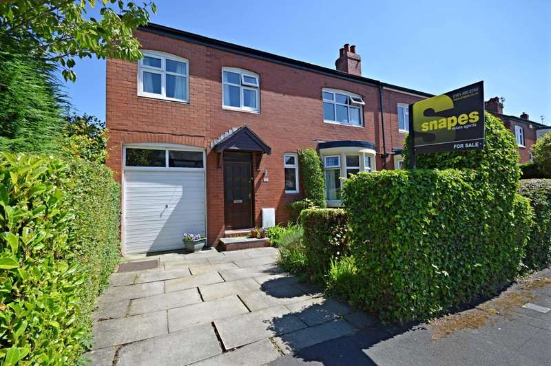 4 Bedrooms Semi Detached House for sale in Hylton Drive, Cheadle Hulme