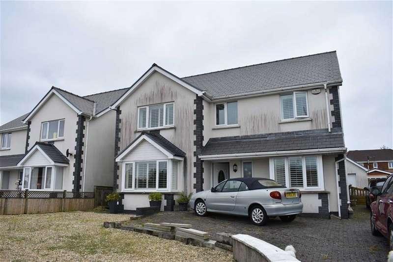4 Bedrooms Detached House for sale in Penllwynrhodyn Road, Llwynhendy, Llanelli