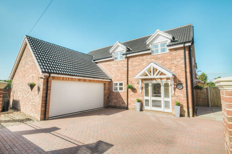 5 Bedrooms Detached House for sale in The Street, Darsham