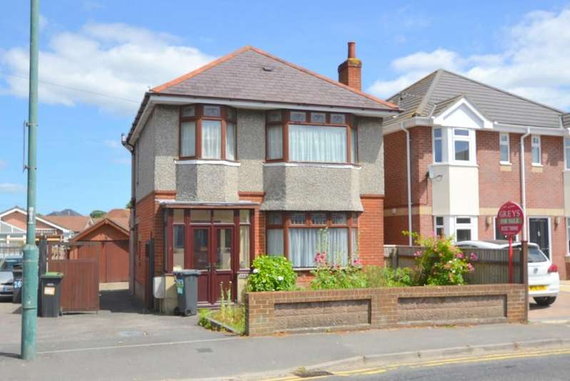 3 Bedrooms Detached House for sale in Columbia Road, Ensbury Park, Bournemouth