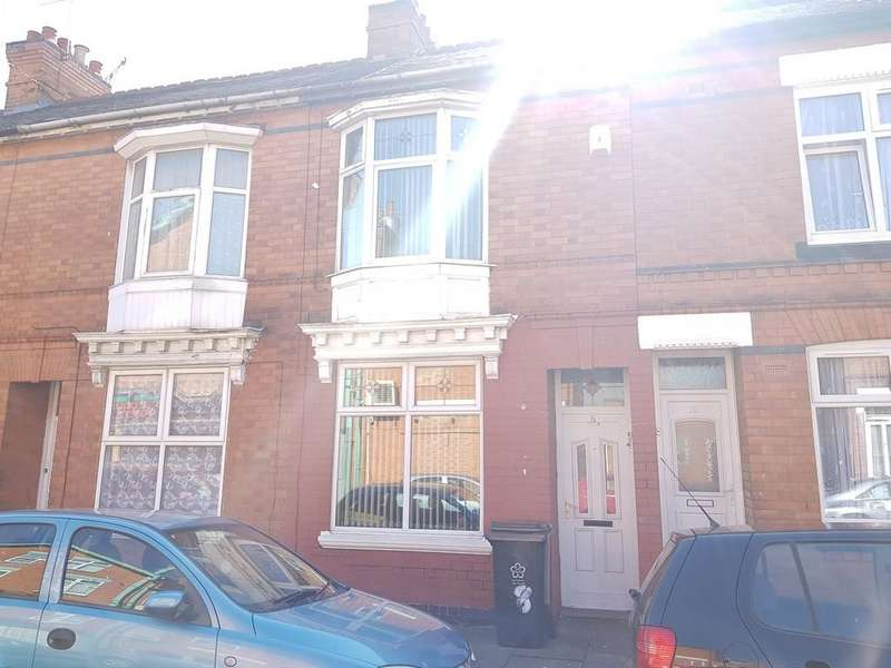3 Bedrooms Terraced House for sale in Lyme Road, Evington, Leicester, LE2
