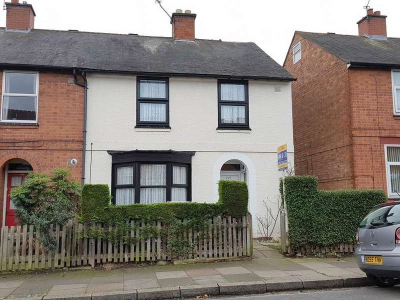 3 Bedrooms Semi Detached House for sale in Kimberley Road, Evington, Leicester, LE2