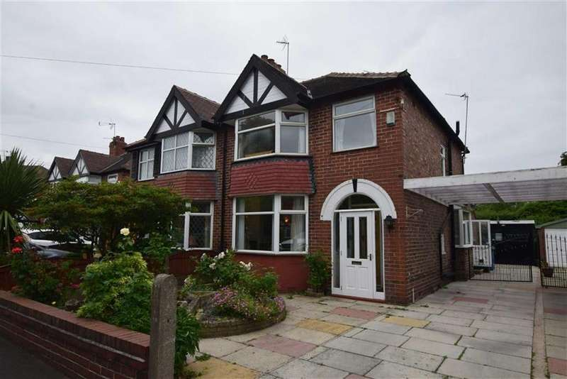 3 Bedrooms Semi Detached House for sale in Ludford Grove, Sale, M33