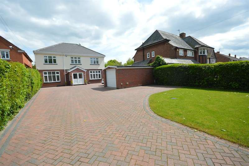 5 Bedrooms Detached House for sale in Lutterworth Road, Aylestone, Leicester, LE2 8PG