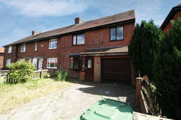 3 Bedrooms Semi Detached House for sale in Holylake Square, Sunderland, Tyne And Wear, SR4 8DB