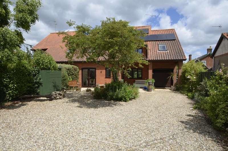 4 Bedrooms Semi Detached House for sale in Workshop Lane, Nacton Village, Ipswich