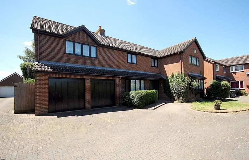 4 Bedrooms Detached House for sale in Fildyke Road, Meppershall, Shefford, SG17