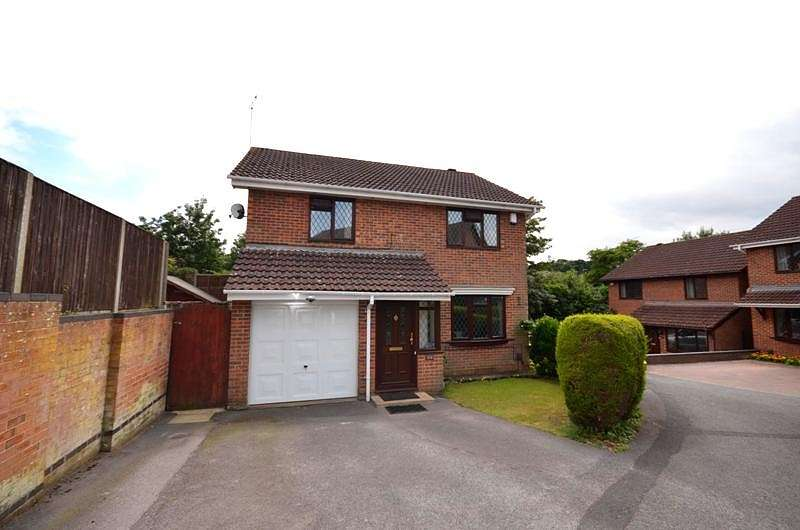 4 Bedrooms Detached House for sale in Swincombe Rise, West End, Southampton, SO18