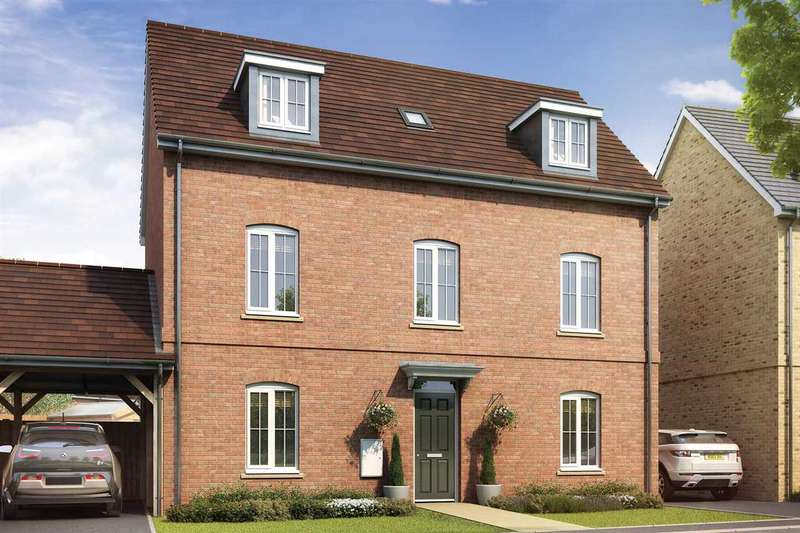 4 Bedrooms Detached House for sale in Hedgerows, @ Willow Lake, Milton Keynes