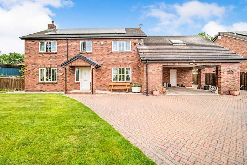 4 Bedrooms Detached House for sale in Newton Arlosh, Wigton, CA7