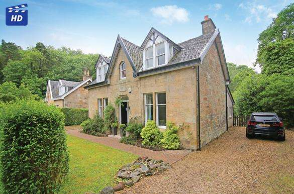 5 Bedrooms Detached House for sale in 25 Station Road, Bearsden, G61 4AW