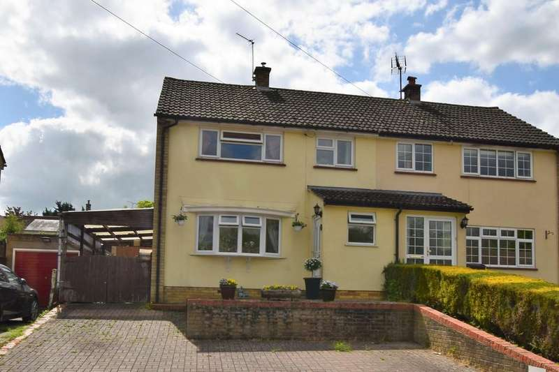 4 Bedrooms Semi Detached House for sale in Duncan Rise, Great Yeldham CO9 4QE