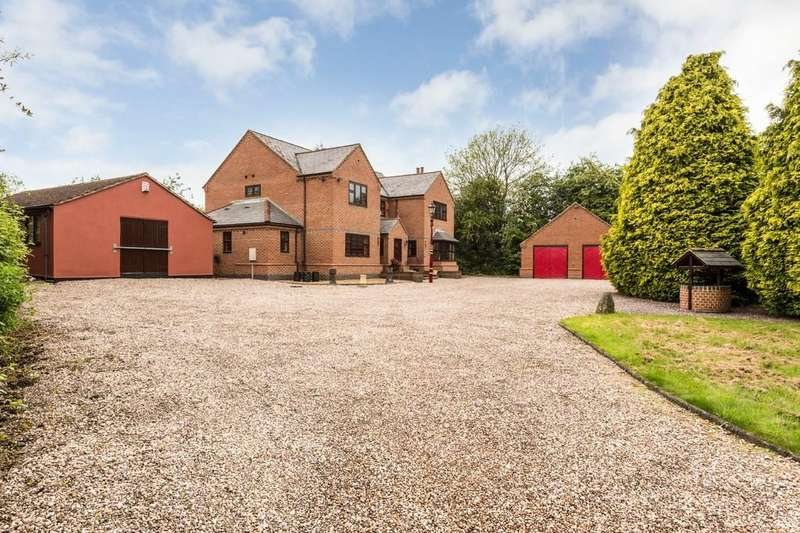 5 Bedrooms Detached House for sale in Hopley Road, Anslow