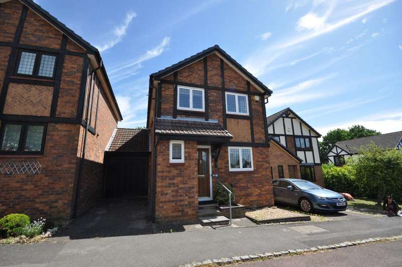 3 Bedrooms Link Detached House for sale in Knossington Close, Lower Earley, Reading, RG6 4EU