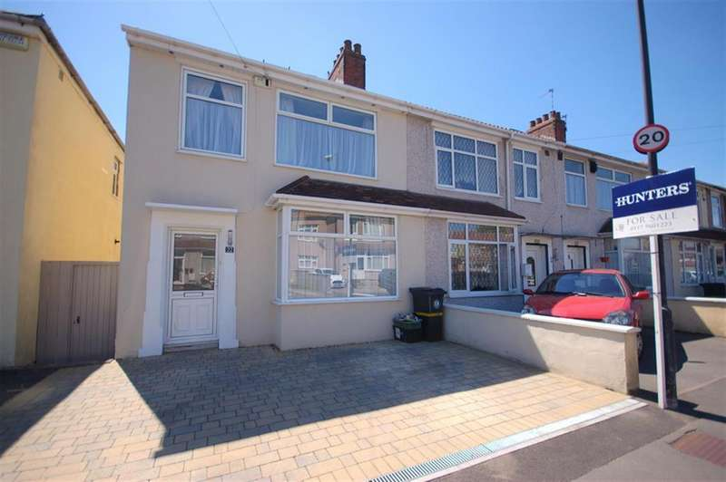 4 Bedrooms End Of Terrace House for sale in Newent Avenue, Bristol, BS15 8AQ
