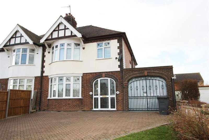 4 Bedrooms Semi Detached House for sale in Eye Road, Newark, Peterborough