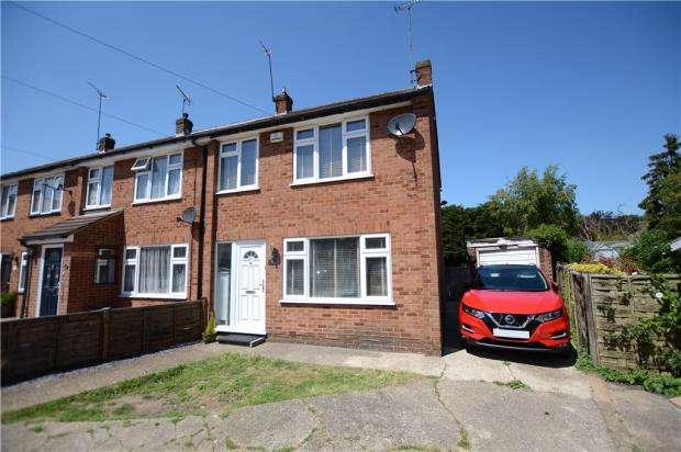 3 Bedrooms End Of Terrace House for sale in Mill Close, West Drayton