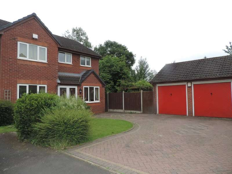 4 Bedrooms Detached House for sale in Canberra Drive, Stafford, Staffordshire ST16